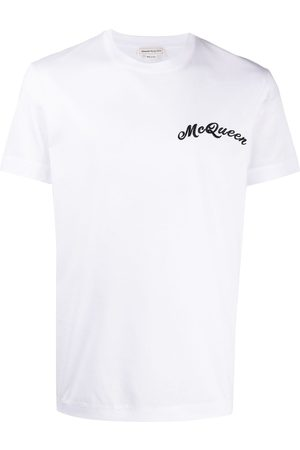 Alexander McQueen Embroidered logo T-shirt