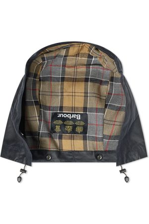 Barbour Men Hats - Waxed Cotton Hood