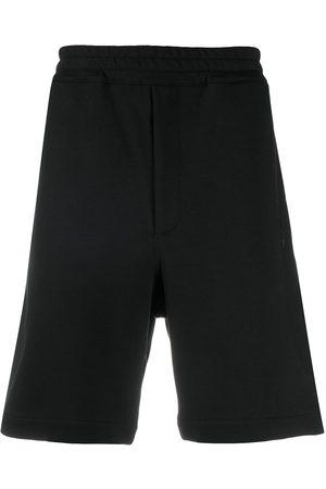 Alexander McQueen Skull cotton track shorts