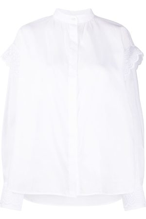 Msgm Ruffle trim shirt