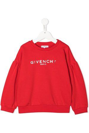 Givenchy Boys Hoodies - Metallic-logo oversized sweatshirt