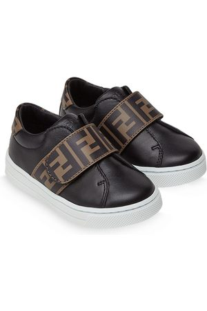 Fendi FF touch strap sneakers
