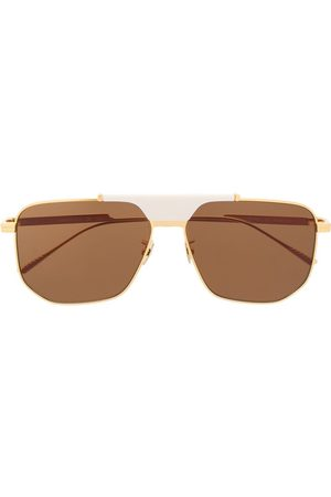 Bottega Veneta Eyewear Sunglasses - BV1036S hexagonal-frame sunglasses