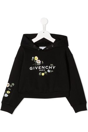 Givenchy Floral-print logo hoodie
