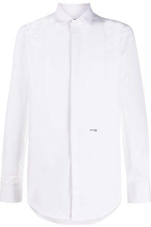 Dsquared2 Spread-collar bib-front shirt