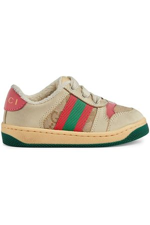 Gucci Screener panelled sneakers - Neutrals