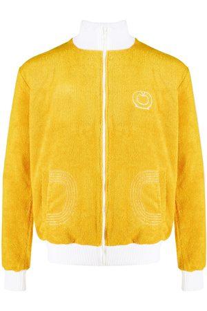 Casablanca Textured cotton track jacket