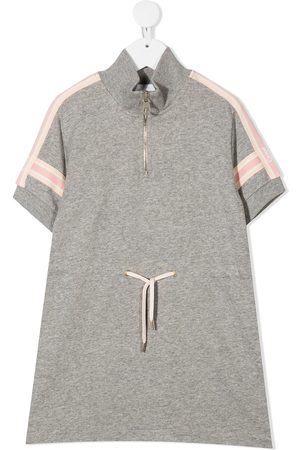 Chloé Zipped T-shirt dress - Grey