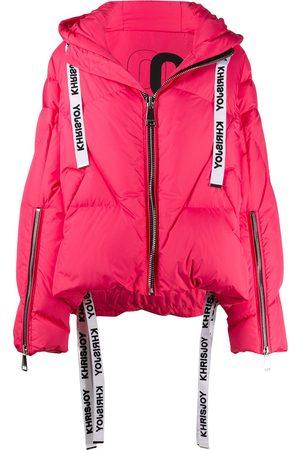 Khrisjoy Hooded padded jacket
