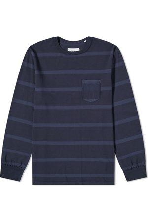 Albam Men Long Sleeve - Long Sleeve Whelan Stripe Tee