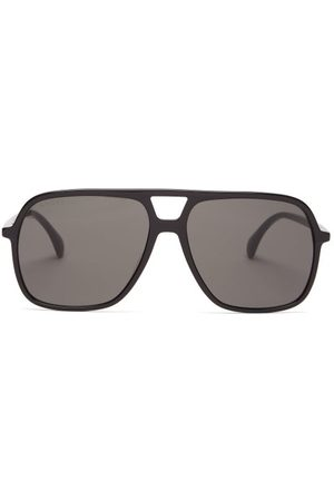 Gucci Women Aviators - Aviator Acetate Sunglasses - Womens