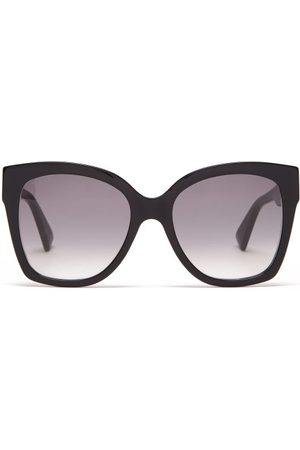 Gucci Women Square - Oversized Square Acetate Sunglasses - Womens
