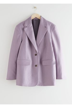 & OTHER STORIES Boxy Oversized Blazer
