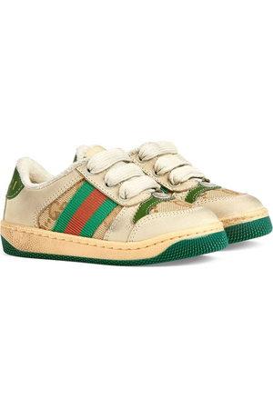 Gucci Screener low-top sneakers - Neutrals