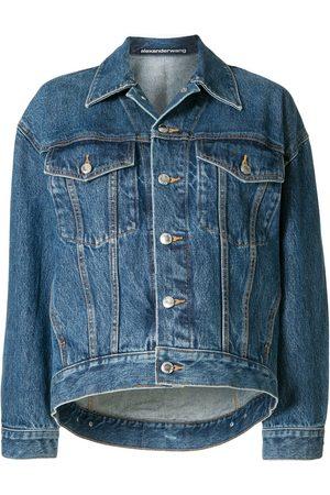 Alexander Wang Women Denim Jackets - Buttoned denim jacket