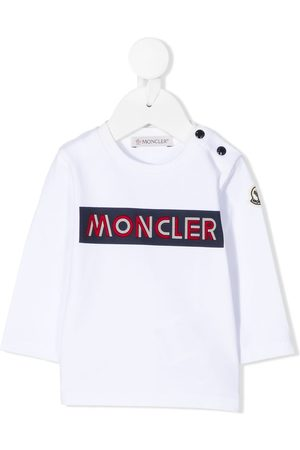 Moncler Long-sleeved branded sweatshirt