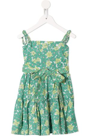 Little Bambah Floral-print tiered dress