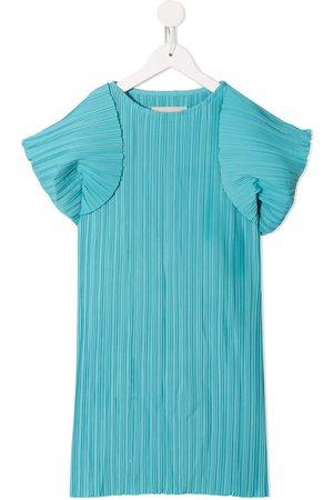 Little Bambah Playa Kaftan micro pleated dress