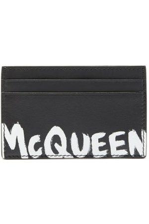 Alexander McQueen Logo-print Leather Cardholder - Mens