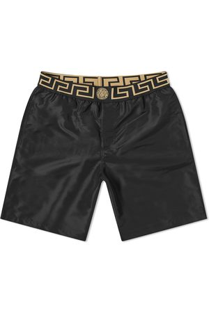 VERSACE Men Swim Shorts - Greek Logo Swimshort