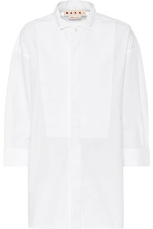Marni Cotton-blend poplin shirt