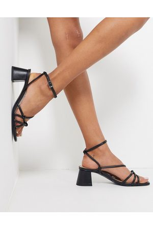 & OTHER STORIES & block heel strappy sandal in
