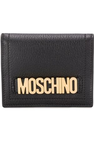 Moschino Women Wallets - Logo plaque wallet