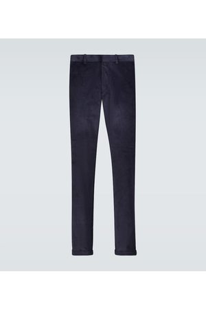 CARUSO Regular-fit corduroy pants