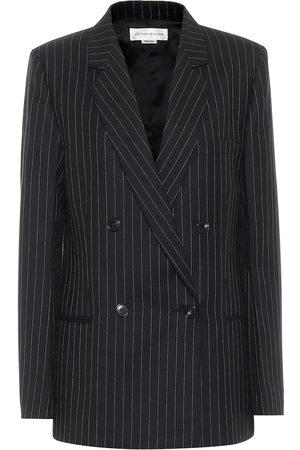 Victoria Beckham Pinstriped wool blazer
