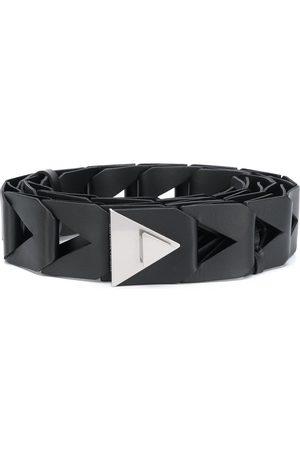 Bottega Veneta Cut-out leather belt