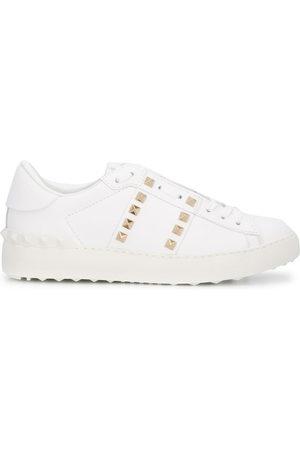VALENTINO GARAVANI Rockstud-embellished low-top sneakers