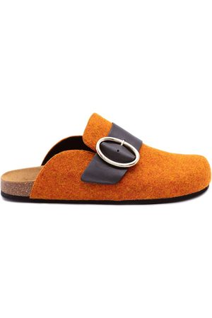J.W.Anderson Women Loafers - Felt loafer mules