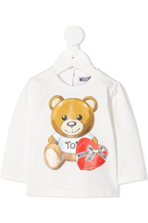 Moschino Long sleeve teddy print T-shirt