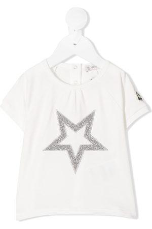 Moncler Metallic embroidered star T-shirt