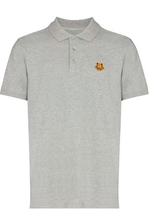 Kenzo Tiger Crest polo shirt - Grey