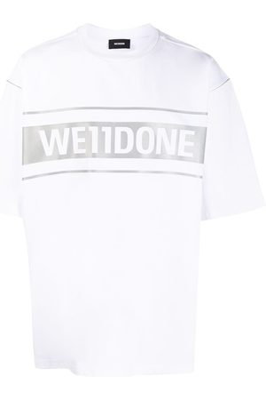 We11 Done Oversized logo print T-shirt