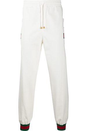 Gucci Men Sweatpants - Web stripe track pants
