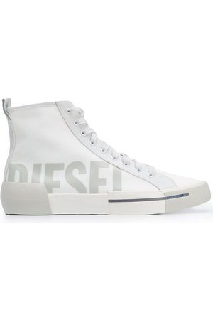 Diesel Logo hi-top sneakers