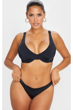 PRETTYLITTLETHING Mix & Match Fuller Bust Underwired Bikini Top