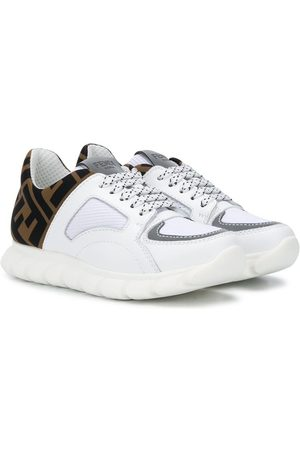 Fendi FF lace-up sneakers