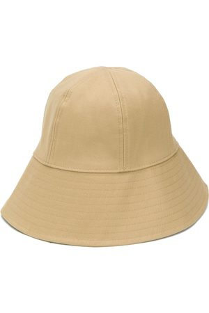 Jil Sander Cotton bucket hat - Neutrals