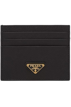 Prada Women Wallets - Logo-plaque card holder