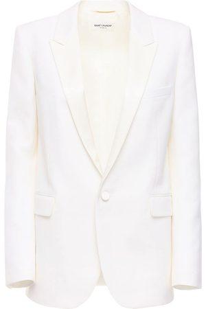 Saint Laurent Women Blazers - Wool Single Breast Jacket