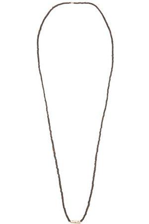 LUIS MORAIS Sapphire & 14kt Necklace - Mens - Multi