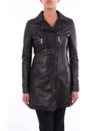 EMANUELE CURCI Women Leather Jackets - Leather jackets Women skin