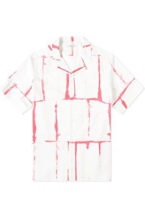 VALENTINO Men Shirts - Tie Dye Grid Vacation Shirt