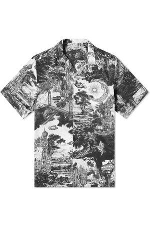 VALENTINO Men Shirts - Dramatic Print Vacation Shirt