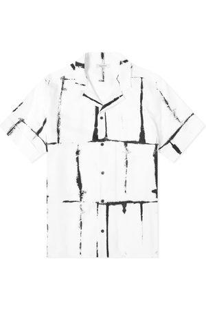 VALENTINO Tie Dye Grid Vacation Shirt