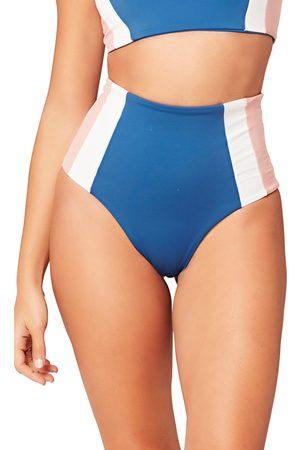 L*Space Women's Portia Girl High Waist Bikini Bottoms