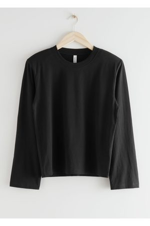 & OTHER STORIES Relaxed Padded Shoulder Top